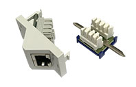 EZZ Cat. 6A Outlets, Modules and Couplers